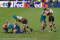 Double trouble (PriceyBoy2010) Tags: sport rugby connacht quins harlequins jamesjohnston quinsrugby joegray joemarler