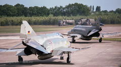McDonnell Douglas F-4F Phantom II (Angle-of-Attack) Tags: netherlands airplane aircraft aviation military ii 1984 phantom douglas tam gaf mcdonnell luftwaffe gilzerijen f4f exersize 3792 3828 jg71 tacticalairmeet