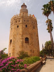 Torre del Oro (lindscatt) Tags: tower gold sevilla spain guadalquivir seville spanish andalusia watchtower 13thcentury almohad goldtower