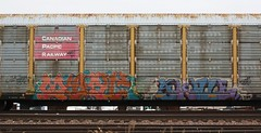 Myst/Same (quiet-silence) Tags: railroad art train graffiti ant railcar same graff cp freight pos myst cprail autorack fr8 tbv allnation