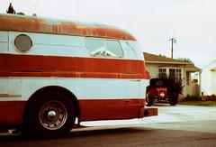 American Bus Balda Matic 03 () Tags: california street camera venice bus 35mm vintage germany losangeles coach xpro crossprocessed cross candid rangefinder super retro southern socal crown matic balda calssic baldamatic