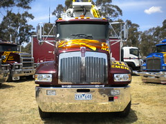 Cooper Bros Kenworth T359 (KW BOY) Tags: show new tractor truck prime big model transport australian lorry r rig cooper hauling express triple conventional castlemaine mover trucking kw 2012 kenworth haulage t359