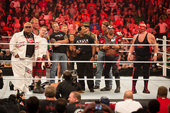 Nostalgia in the ring (xanderhieken) Tags: road animal dallas raw wrestling clown stlouis center diamond slaughter page warrior vader piper apa rowdy cutter 1000 thousand episode lita wwe wwf roddy smackdown the rikishi ddp doink seargeant scottrade