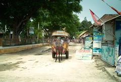 Gili Trawangan (tsiklonaut) Tags: ocean life street longexposure travel horse motion tourism indonesia island still asia tour indian transport donkey sigma tourists experience southeast cart gili advertisements carry timeless discover foveon x3     dp2s tsiklonaut