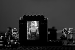 X-RAY confirms it: He really is heartless (dcarlbom) Tags: blackandwhite starwars lego xray stormtrooper strobist ekbacken genomskinlig fotosondag fs130203