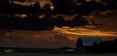 Majestic Beacon (JSPhotoLLC) Tags: sunset clouds barn canon mark farm vibrant ii impact kansas 5d
