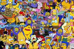 i love you (mkywalker) Tags: love los bart lisa simpsons maggie burns fox homer krusty smithers marge sick simpson homero flanders milhouse