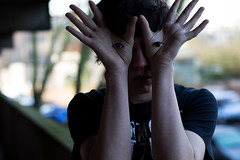 Ardin's Labyrinth [36/365] (Ardinnnn :)) Tags: boy portrait man guy eye photoshop project photography 50mm model hand bokeh teen teenager 365 18 labyrinth edit pans ardin d3100