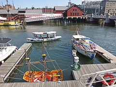 BostonBoats&Docks (fotosqrrl) Tags: urban boston boats dock massachusetts streetphotography fortpoint congressstreet