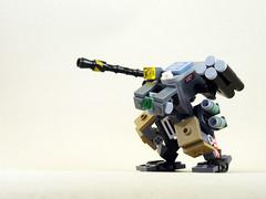 lego mecha microscale