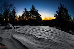 snowy sunrise (Kyle-Marshall-Photography) Tags: new winter england snow cold sunrise nikon flickr hiking massachusetts fisheye snowshoeing windblown lightroom ashburnham mtwatatic d700