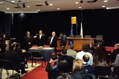 Ο Δήμαρχος Αμαρουσίου Γ. Πατούλης έκοψε την Πρωτοχρονιάτικη πίτα των εργαζομένων στη Δημοτική Συγκοινωνία