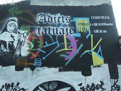 PUBLICITE' SAUVAGE (Assi-one) Tags: street paris art stencil salsa tetas pochoir culos monjas schablone perras pitas chochos assione