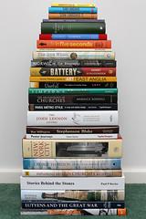 book pile (Leo Reynolds) Tags: canon eos book iso400 28mm stack pile 7d f80 bookstack bilf bookpile pileofbooks 0008sec hpexif xleol30x xxx2013xxx