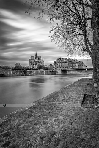 Notre Dame from the quai d
