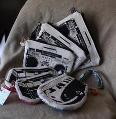 New Printed Wristlets (made by mauk) Tags: ink screenprint wristlet yudu mademymauk maukrulz