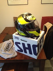 New Shoei Overt (jm1117) Tags: uploaded:by=flickrmobile flickriosapp:filter=nofilter