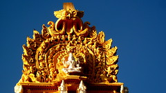Divine Guardian of Royal City (kayceevinay) Tags: india karnataka mysore vimana chamundeshwaritemple dravidiantemples panasoniclumixdmcfz35