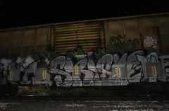 Skiste (Revise_D) Tags: railroad graffiti rails tagging freight revised fr8 bamc mzk knd benching skiste fr8heaven fr8aholics