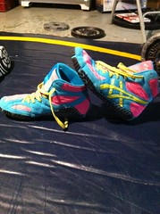 Sissys size 8.5 8/10 condition (Pencook126) Tags: blue red sports john foot