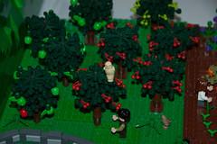 Hobbiton (SEdmison) Tags: lego shire hobbit tolkien hobbiton eccc emeraldcitycomiccon emeraldcitycomiccon2013