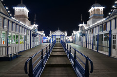 After Dark (Explored) (simon.anderson) Tags: longexposure stairs sussex explore nighttime eastbourne eastsussex banisters eastbournepier picknmix intervalometer explored simonanderson nikon1685 nikond300s