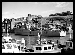 Whitby, one from the Past. (kensaiger) Tags: whitbyabbey portshipmastboat