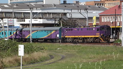 7E E7010 East London station with the East London - Cape Town Passenger Train No. 41256 (Nico West) Tags: sar prasa southafricanrailway class7e 50csgroup