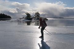 Trosa Skrgrd (David Thyberg) Tags: winter ice nature sweden skating skate sverige trosa sdermanland lngfrdsskridsko kllvik