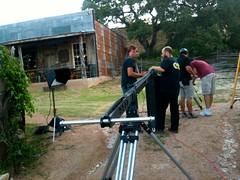 """Setting up the Jib • <a style=""""font-size:0.8em;"""" href=""""http://www.flickr.com/photos/58916393@N03/8551625557/"""" target=""""_blank"""">View on Flickr</a>"""