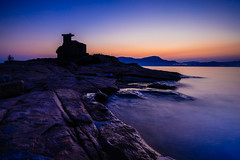 (dawvon) Tags: world ocean china city longexposure travel sunset sea sky hk seascape castle nature rock stone landscape ed hongkong countryside twilight nikon asia zoom wideangle nikkor   f4 vr afs hongkongisland lenses zoomlens sheko  f4g 1635mm   fmount vibrationreduction hoktsui vr2   vrii capedaguilar wideanglezoom brokencastle nanocrystalcoat afsnikkor1635mmf4gedvr 1635mmf4gvr