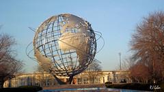 NY World's Fair Sitr (rjgabor) Tags: world sculpture ny site globe fair worlds flushing