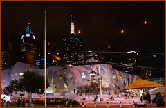 Melbourne modern architecture 023 (Pippasmum) Tags: skyline architecture cafe australia melbourne victoria tourists nightscene melbournenight3