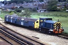 Class 05 05001 Ryde 1/6/83 (Stapleton Road) Tags: train isleofwight locomotive ryde shunter 05001 class05