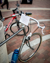 My First Que Sheet (Tony DeFilippo) Tags: bicycle washingtondc dcist waba vasaride