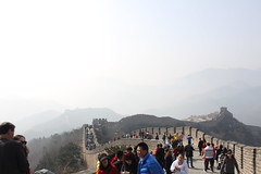 Heading Back (DanaRane) Tags: china beijing trips greatwall badaling sevenwonders greatwallofchina 2013 2013march
