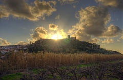 Obidos (_Rjc9666_) Tags: sunset castle monument clouds castelo nuage hdr 96 295 pordesol nuvems tokina1224dxii nikond5100