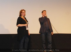 "Intro, ""Downloaded"" World Premiere (larry-411) Tags: austintexas downloaded napster paramounttheatre shawnfanning sxswfilmfestival seanparker alexwinter janetpierson"