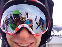 Mirror (Ekaterina Sotova) Tags: winter snow mountains snowboarding march spring mask russia extreme holydays burton madnes vonzipper caucas 2013 dombay karachaycherkessia