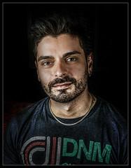 Enzo. (PiggBox.) Tags: portrait male key retrato low american enzo express opc piggbox