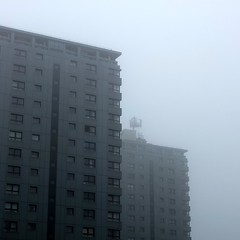 battleship grey (whistle.and.run) Tags: windows cloud white mist water misty fog modern digital grey apartments fuji apartment cloudy satellite sheffield foggy fade block modernarchitecture londonroad vapour vapor radar apartmentblock satellitedish modernbuilding x10 foggyday mistyday apartmentblocks blockofflats modernbuildings broomhall sheffieldbuildings sheffieldarchitecture fujifilmx10 broomhallflats