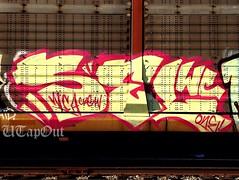 SEL (UTap0ut) Tags: california art cali train graffiti paint wc kings msk graff mad sel society freight autorack wca uploaded:by=flickrmobile flickriosapp:filter=nofilter