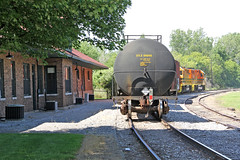 Michigan Shore RR: 7 (craigsanders429) Tags: michiganshorerailroad grandhavenmichigan tankcars michiganrailroads depots depot traindepots railroaddepots stations trainstations railroadtracks tracks