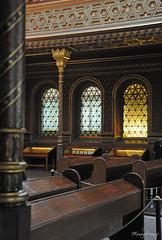 Pews (_MissMoneyPenny_) Tags: spanish synagogue sinagoga spagnola religion religione jews ebrei praga prague czech republic repubblica ceca travel viaggio