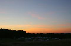 Evening sky. (aitch tee) Tags: eveningsky settingsun pembrey clouds southwales