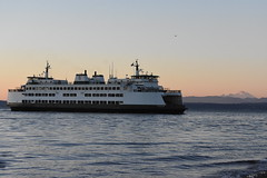 Day 209 of 366 (Around The PNW Edition) (James_Seattle) Tags: nikon d7200 mukilteo beach washington june 2016 366 challenge sunset water ocean puget sound photo background desktop wallpaper outdoor ferry state wsdot tourism tourist clinton tokitae sea boat vehicle landscape seaside shore coast mtbaker mt baker around the pnw edition aroundthepnwedition