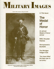 Military Images magazine cover, May/June 2002 (militaryimages) Tags: militaryimages magazine findingaid archive backissue photography history civilwar mexicanwar spanishamericanwar worldwari indianwar soldier sailor military us america american unitedstates veteran infantry cavalry artillery heavyartillery navy marine union confederate yankee rebel roach matcher neville coddington mi citizensoldier uniform weapon photographer tintype ambrotype cartedevisite stereoview albumen daguerreotype hardplate ruby