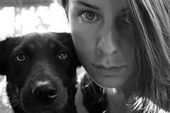 Leo&me (Veruuuu) Tags: cane dog selfie autoritratto eyes occhi volto pet paws puppy