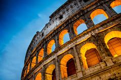 Coliseum on Blue Hour (adrianalonsofernandez) Tags: coliseum rome italy bluehour