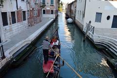 Venice DSC_8623 (Nina Roberts) Tags: venice italy canal gondola gondolier